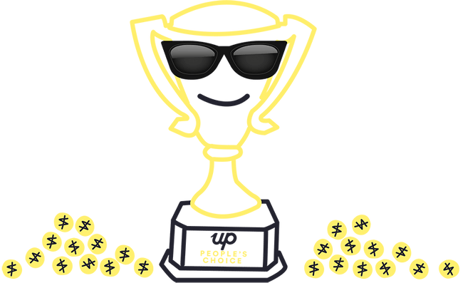 Up app Melbourne Fringe Festival awards cup