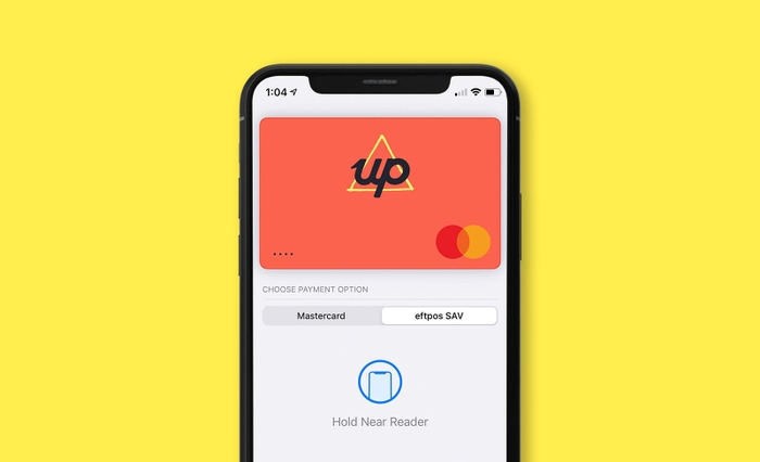 Apple wallet Eftpos Up app
